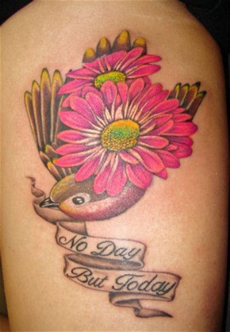 tattoo daisy pictures no day but today tattoo
