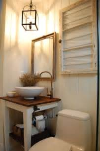 Small Rustic Bathroom Vanity Small Bathroom Super Cute Dream House Pinterest