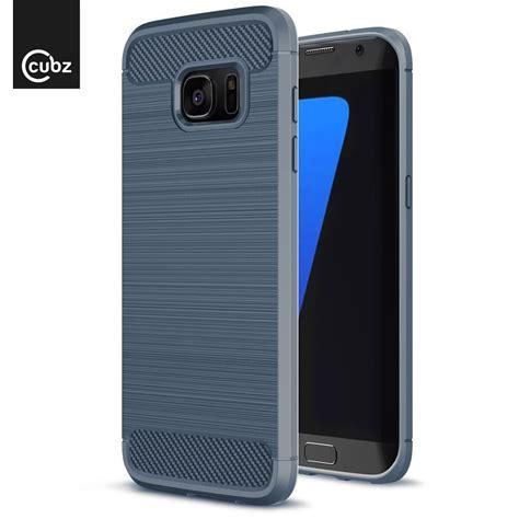 Foto Hp Samsung S7 husa samsung galaxy s7 edge cubz series carbon blue