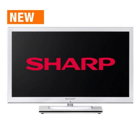 Tv Sharp 24 Inch Led sharp lc24le250k wh 24 inch freeview led tv appliances direct