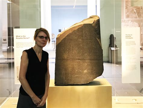 rosetta stone object inheriting the most iconic object at the british museum