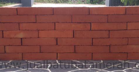 Merah Bata jual batu bata merah bata expose bata tanpa plester