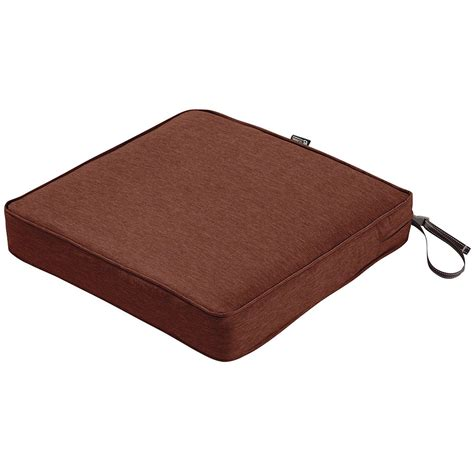 Patio Seat Cushions by 19 X 19 Patio Chair Seat Cushion In Outdoor Cushions