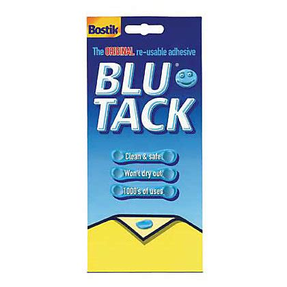 Home And Garden Interior Design by Bostik Blue Tack Economy Adhesive Large Pack