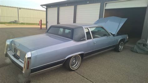 1983 Cadillac Coupe Parts by Cadillac Coupe 1983 Blue For Sale