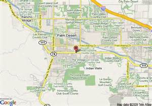 palm desert california map map of best western palm desert resort palm desert