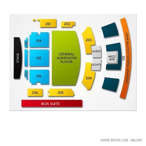 rock live seating map rock live biloxi tickets rock live biloxi