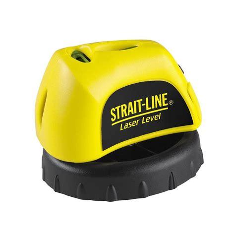 strait line laser level 6041100cd the home depot
