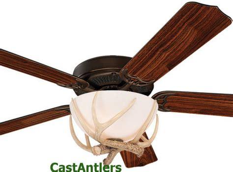 rustic ceiling fans flush mount 52 inch rustic cabin lodge antler flush mount ceiling fan