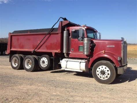 kenworth dump truck kenworth w900 dump trucks for sale 155 used trucks from 9 500
