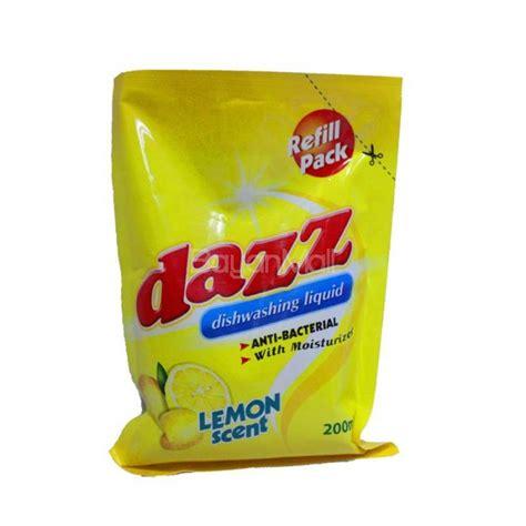 Soap Liquid Lemon dazz dishwashing liquid lemon 200ml