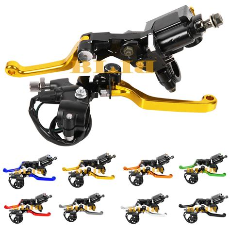 80r Dirt Bike Brakes dirt bike motocross flex pivot brake clutch levers for