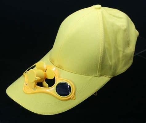 hat with fan built in solar power fan hat cap cooling cool fan for golf baseball