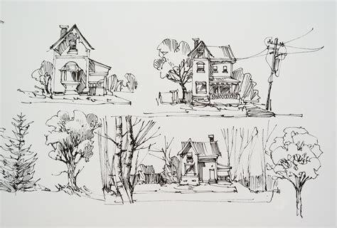 sketchbook landscape a page from my sketchbook of some rural landscape o