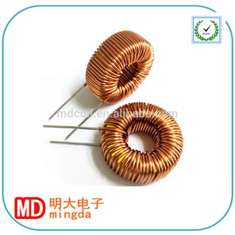 spiral inductor radiation high quality low price single choke toroid air coil power inductor 100mh view