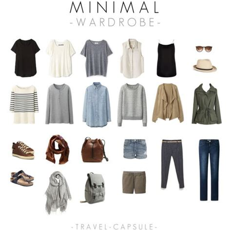 Capsule Travel Wardrobe by Travel Capsule Minimal Wardrobe What To Wear