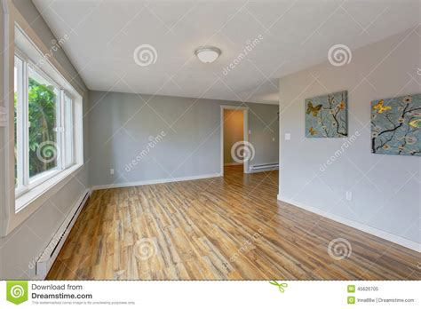 Empty house interior with light blue walls stock image image 45626705