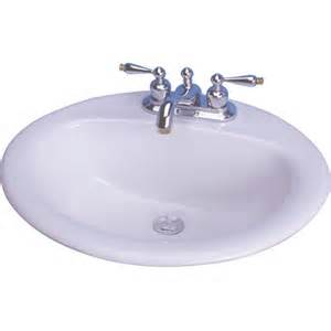 20 bathroom sink 20 quot x 17 quot victor drop in bathroom sink wayfair