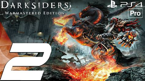 Sony Ps4 Darksiders Warmastered Edition darksiders warmastered edition gameplay walkthrough part 2 the choking grounds ps4 pro