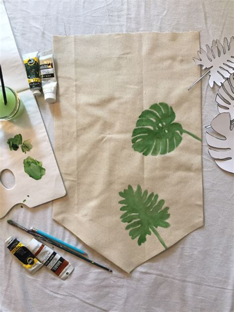 diy tropical leaves art think crafts by createforless diy tropical leaves art think crafts by createforless