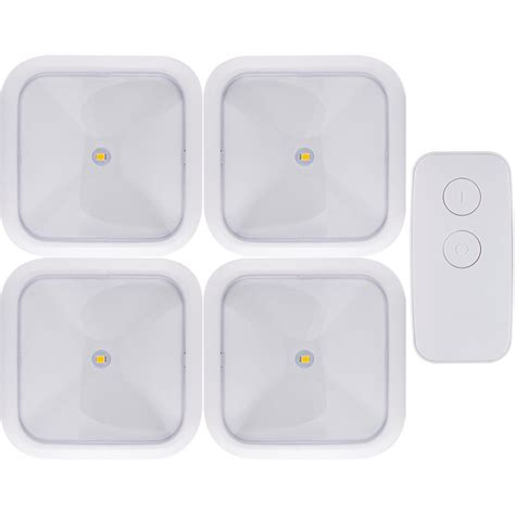 battery operated puck lights ge battery operated wireless remote led puck lights white