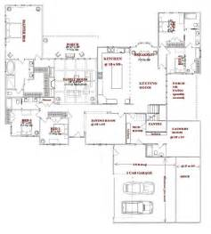 large one story house plans pinterest