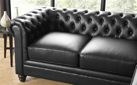 hton chesterfield corner sofa hton chesterfield black leather corner sofa l shape