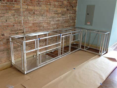 kitchen island kits steel frame kitchen cabinets rooms
