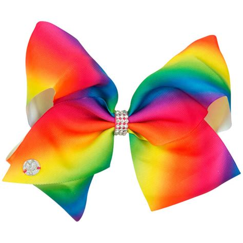 Jojo Siwa Bow By Timorashop jojo siwa bow set rainbow magenta iwoot