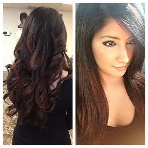 black hair with redish highlights 2014 5 hot red highlights that will impress your friends hair