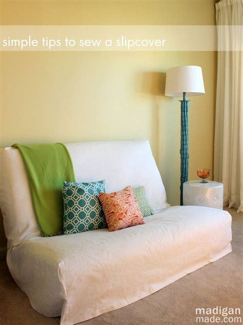 sewing sofa slipcovers tips for sewing a futon slipcover madigan made sewing
