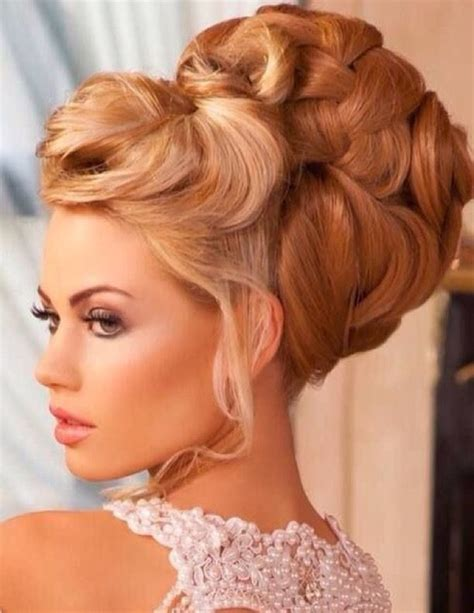 Wedding Hair Big Updos by Hair Updo Big Bouffant Weddings Ideas Best