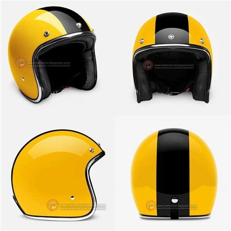 Modifikasi Helm Vespa by Cb Style Kuning Modifikasi Motor Japstyle Terbaru