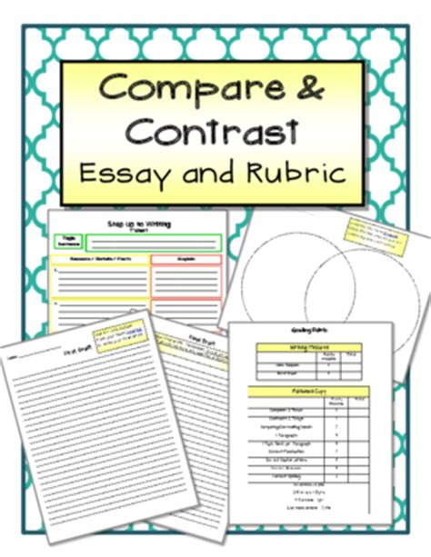 up up essays books compare and contrast essay and rubric