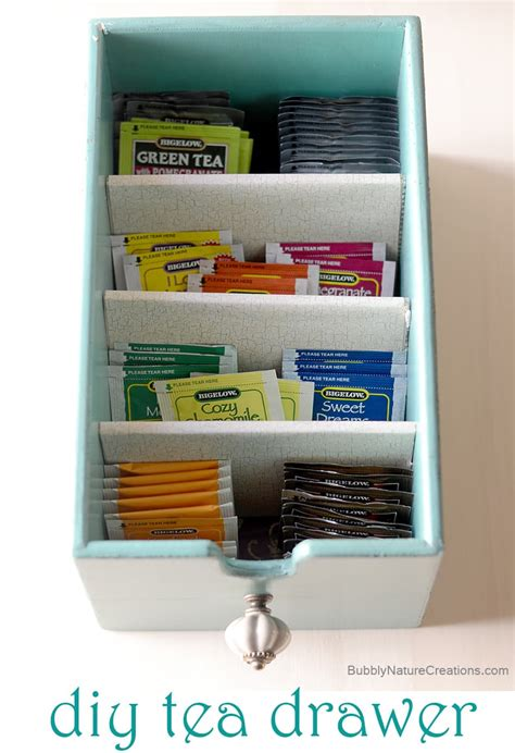 tea drawer diy tea drawer w perfect peach tea and peach shortcake