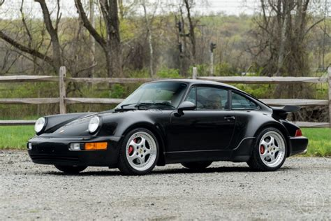 Porsche 964 Turbo 3 6 by 1994 Porsche 911 Turbo 3 6 For Sale On Bat Auctions