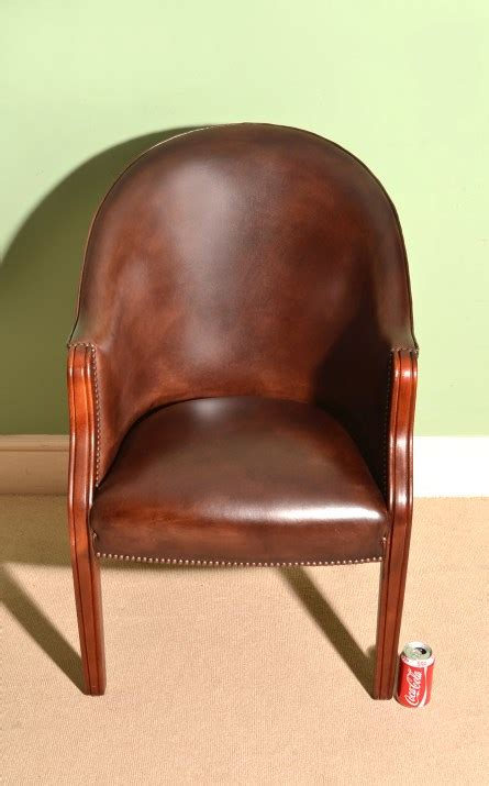 Handmade Leather Chairs - regent antiques armchairs and desk chairs desk chairs
