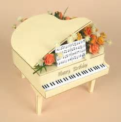 3d card templates card craft card templates 3d grand piano by