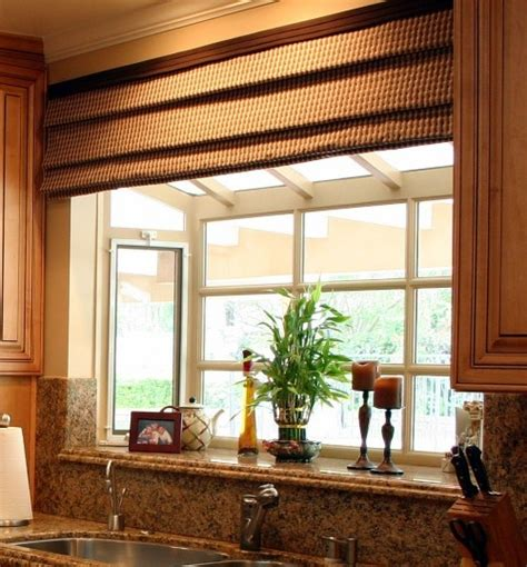 window treatment ideas for bay windows in kitchen quot over the sink quot bay window kitchen remodel pinterest