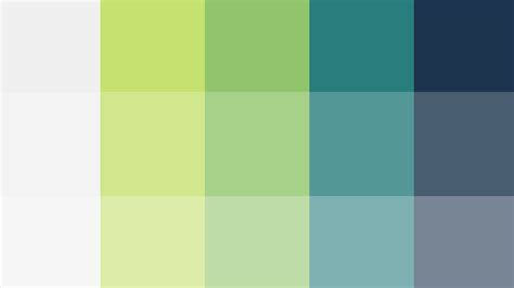color pallete using color theory to create a better color palette