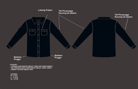 Baju Karyawan Net Tv konveksi seragam handal bayu win