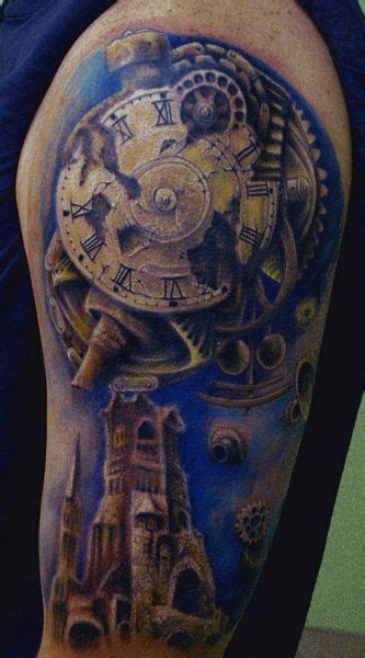 clock tower tattoo perls tatuaje search
