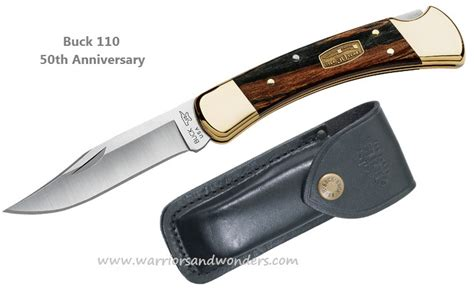 buck knives 50th anniversary buck warriors and wonders