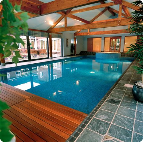 Inside Pool by Indoor Swimming Pool Designs Home Designing