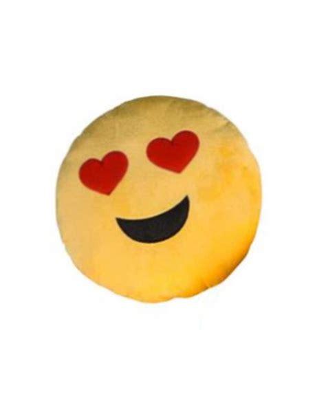 emoji yellow heart eyes yellow emoji pillow