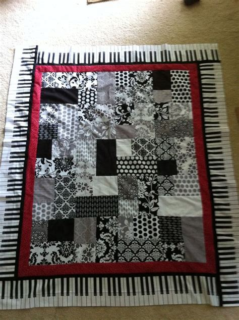 Piano Quilt Pattern by Quilt And Piano On