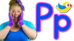 the letter p song learn the alphabet