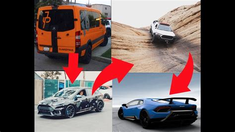 jake paul car jake paul cars rare and expensive youtube