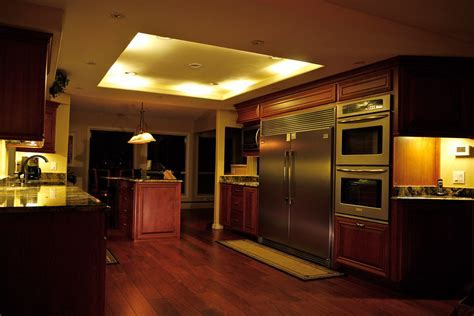 Alight Kitchen With Glancing Under Cabinet Lighting