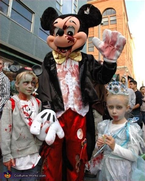 mickey mouse zombie costume